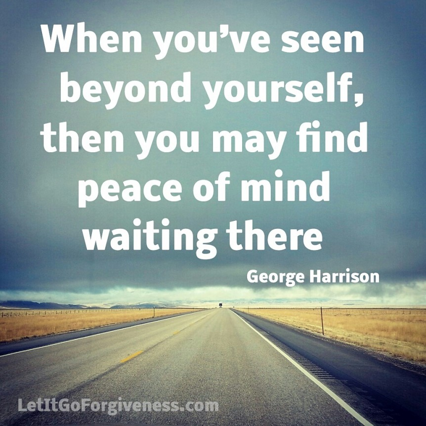 Peace Of Mind Quotes: Let It Go Forgiveness Quotes