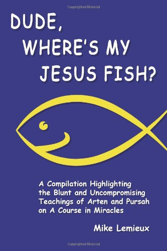 Dude Wheres My Jesus Fish Cover