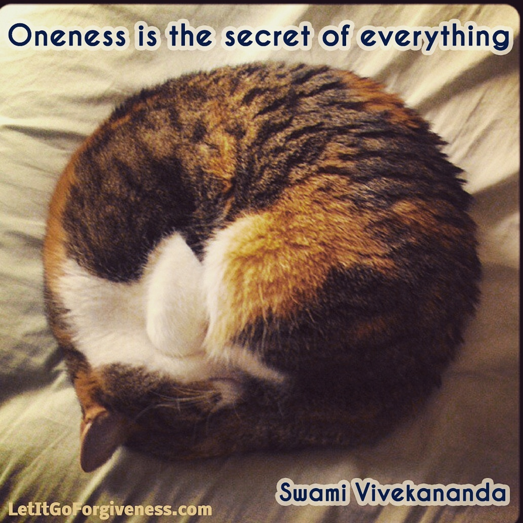 oneness secret to everything quote